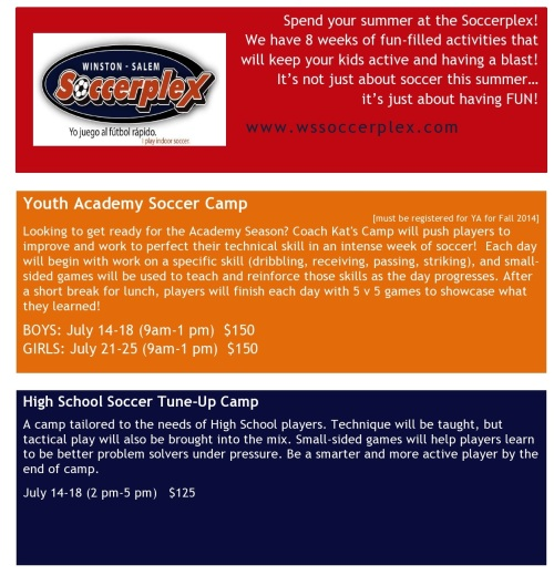 Soccer Camp Flyer 2014-page0001